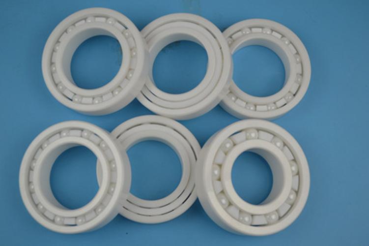 Rodamiento de bolas radial zro2 de cerámica de alto rendimiento